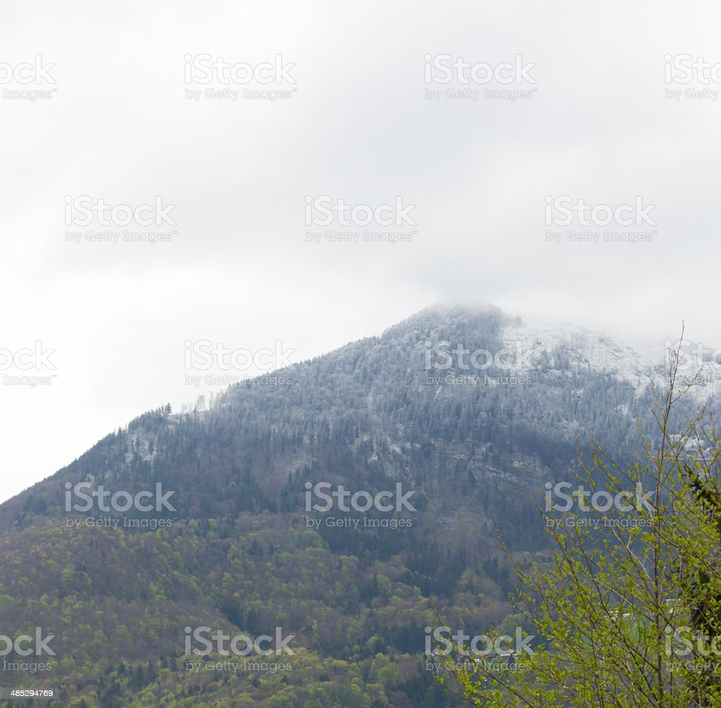 Gaisberg stock photo