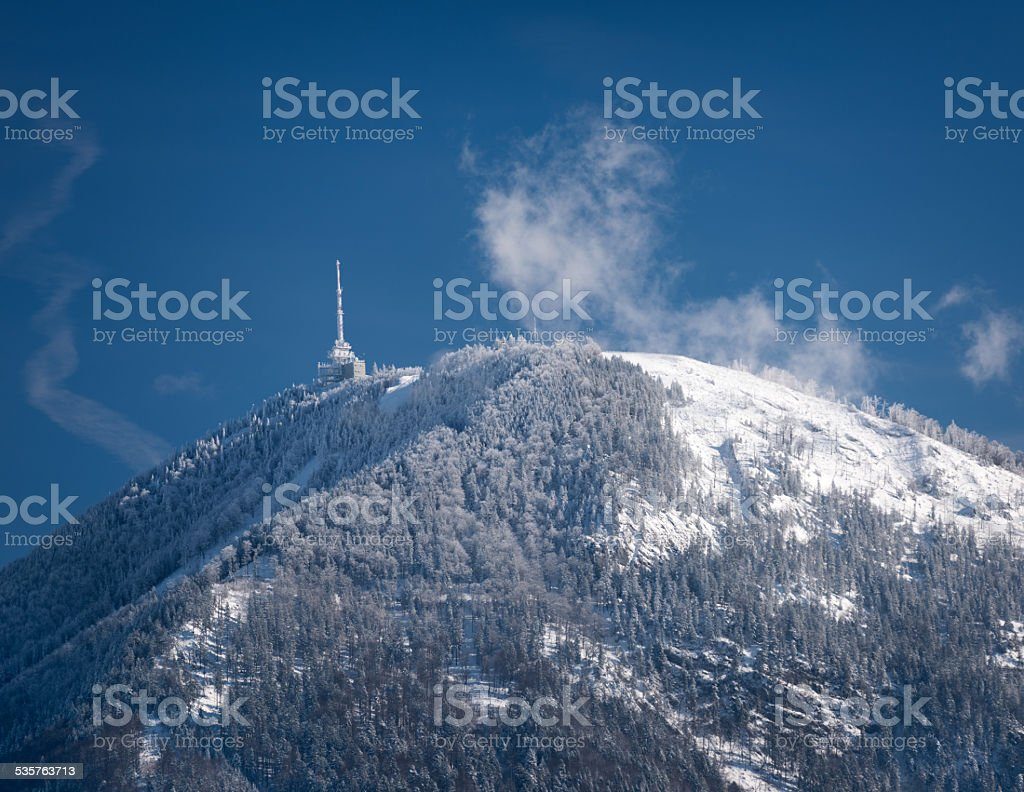 Gaisberg, Salzburg stock photo