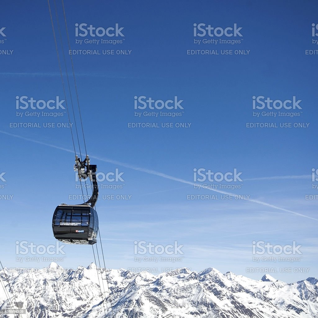 Gaislochkogel Soelden royalty-free stock photo