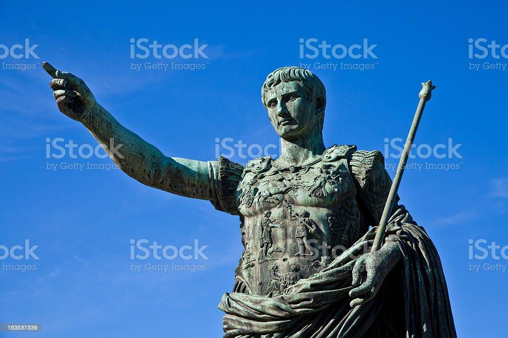 Gaius Julius Caesar stock photo