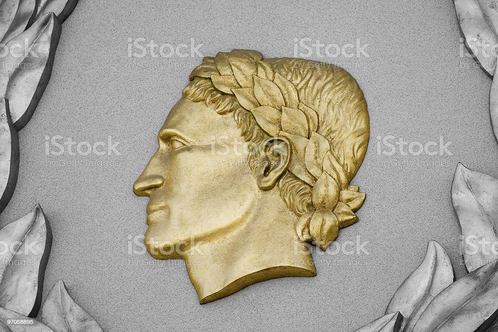 Gaius Julius Caesar royalty-free stock photo