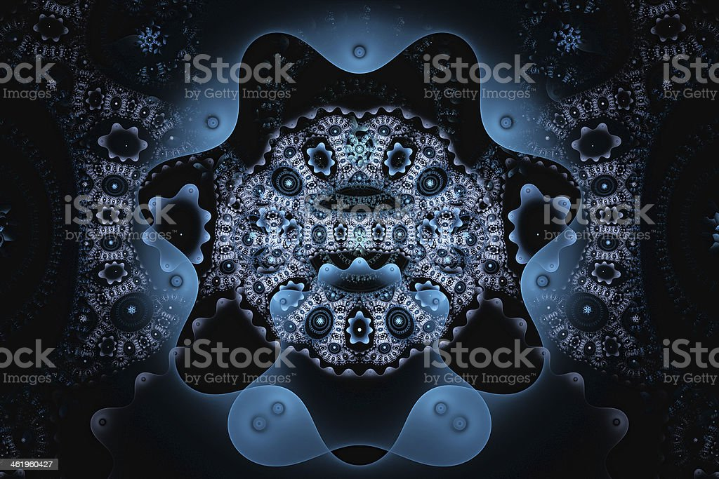 Galactic seal royalty-free stock photo