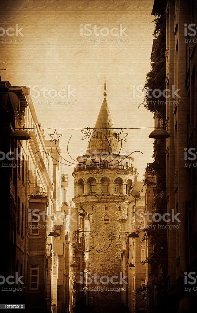 Galata Tower royalty-free stock photo