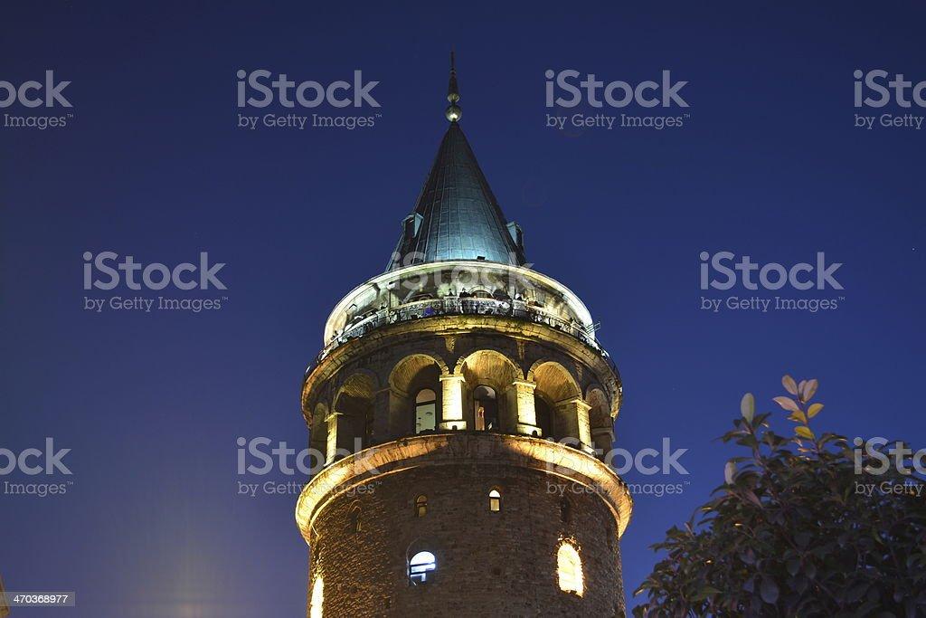 Galata Tower Lizenzfreies stock-foto