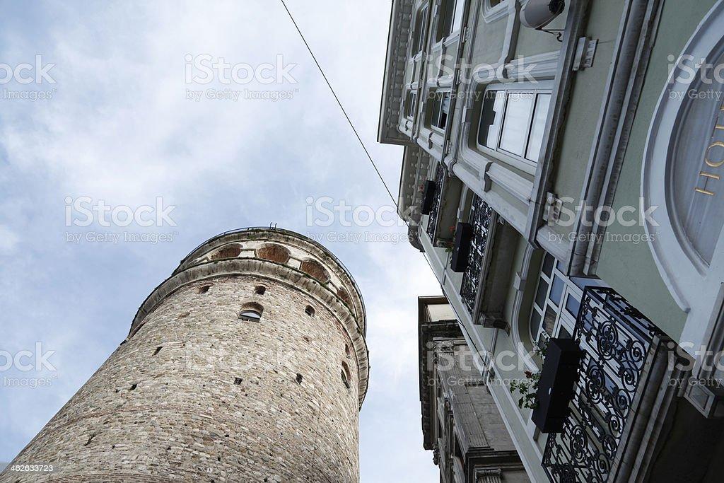 Galata Tower İstanbul Turkiye stock photo