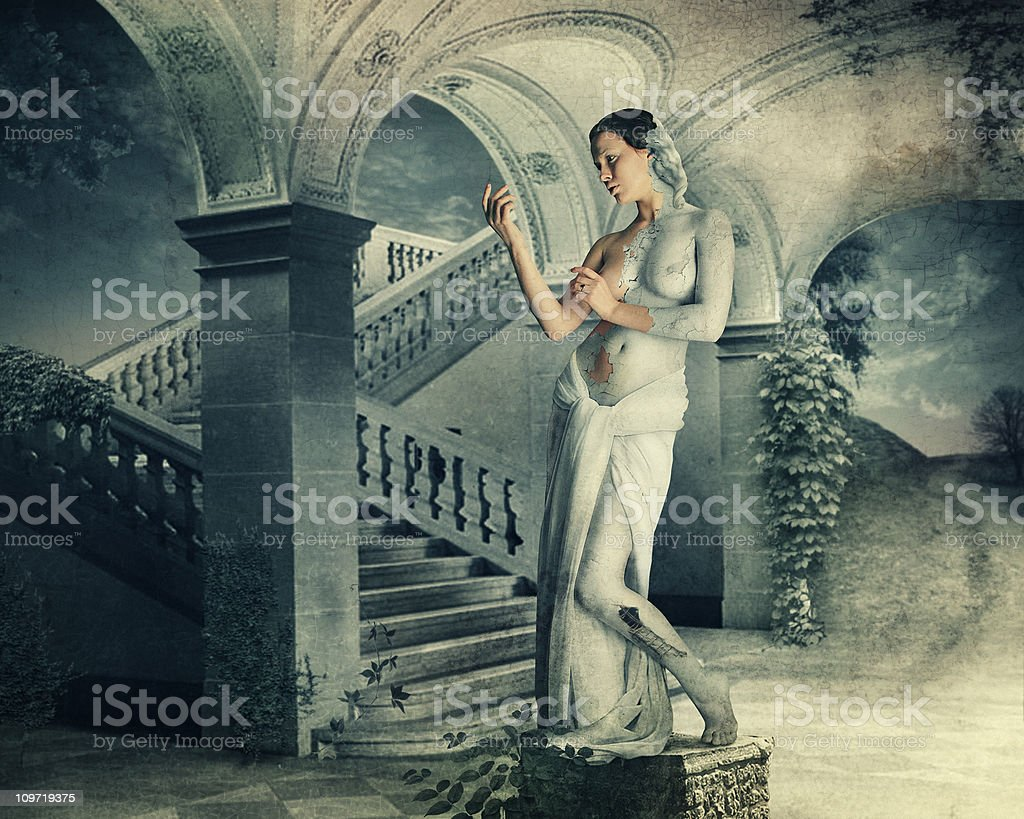 Galatea. Classical Greek Mythology. stock photo