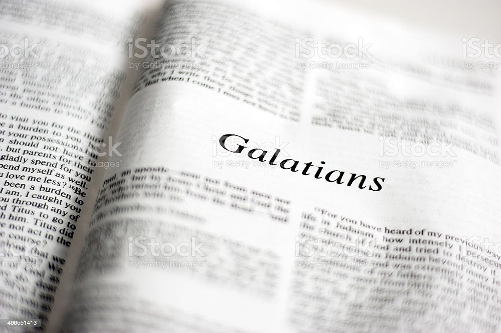 Galatians stock photo