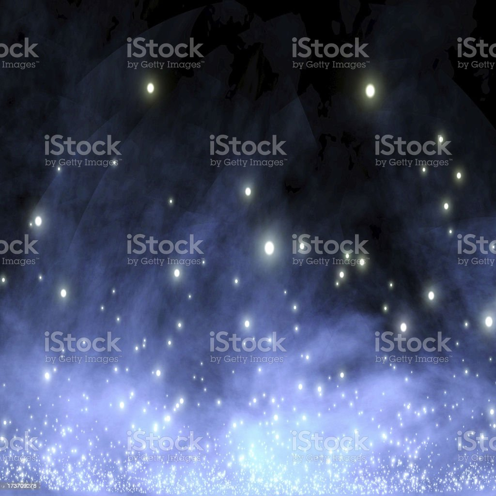 galaxy in outer space royalty-free stock photo