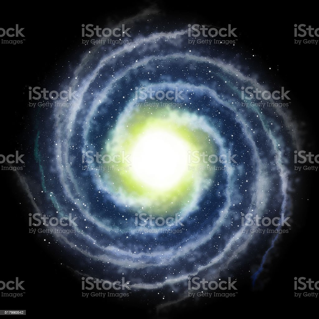 Galaxy in the universe stock photo