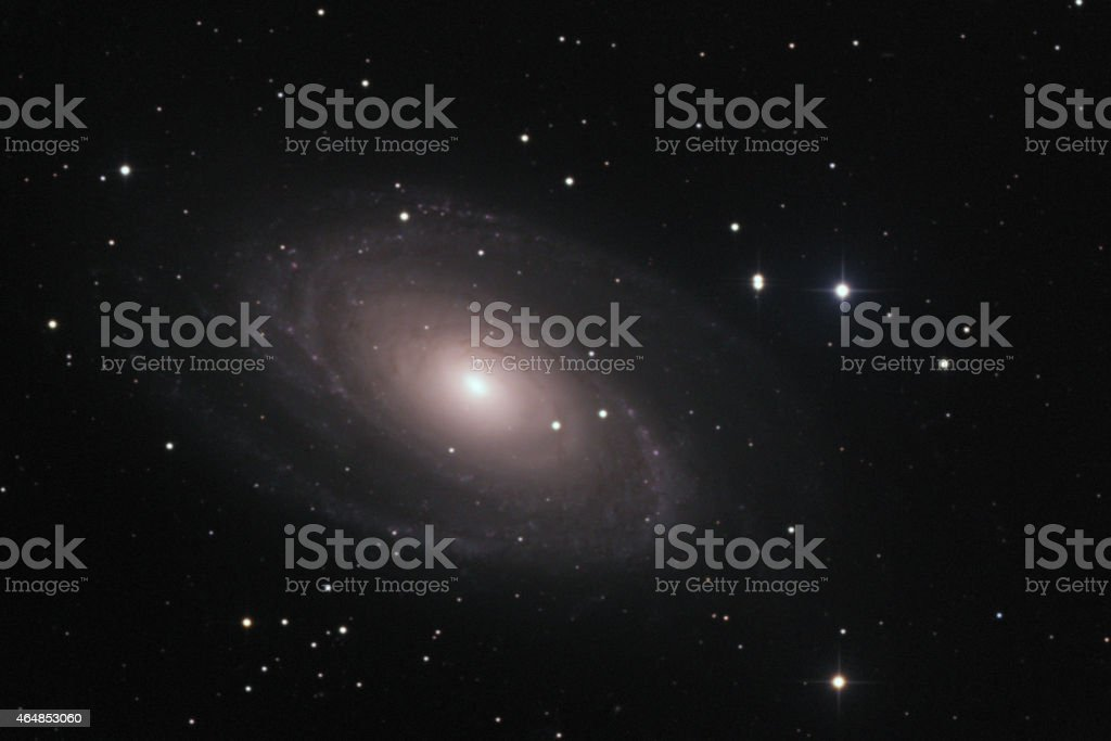 M81 galaxy stock photo