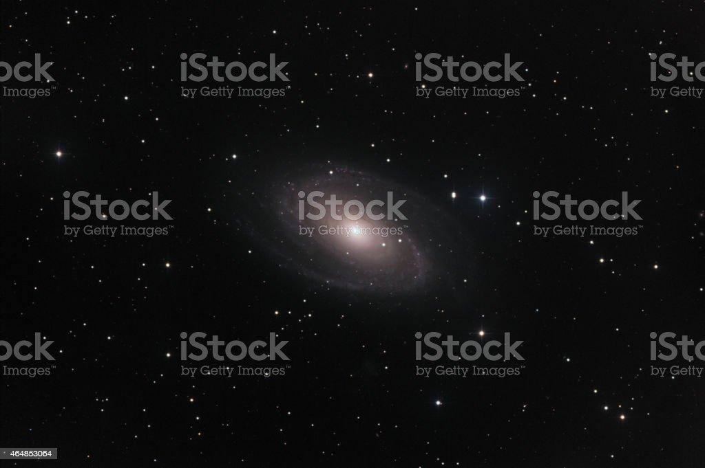 M81 galaxy stock photo