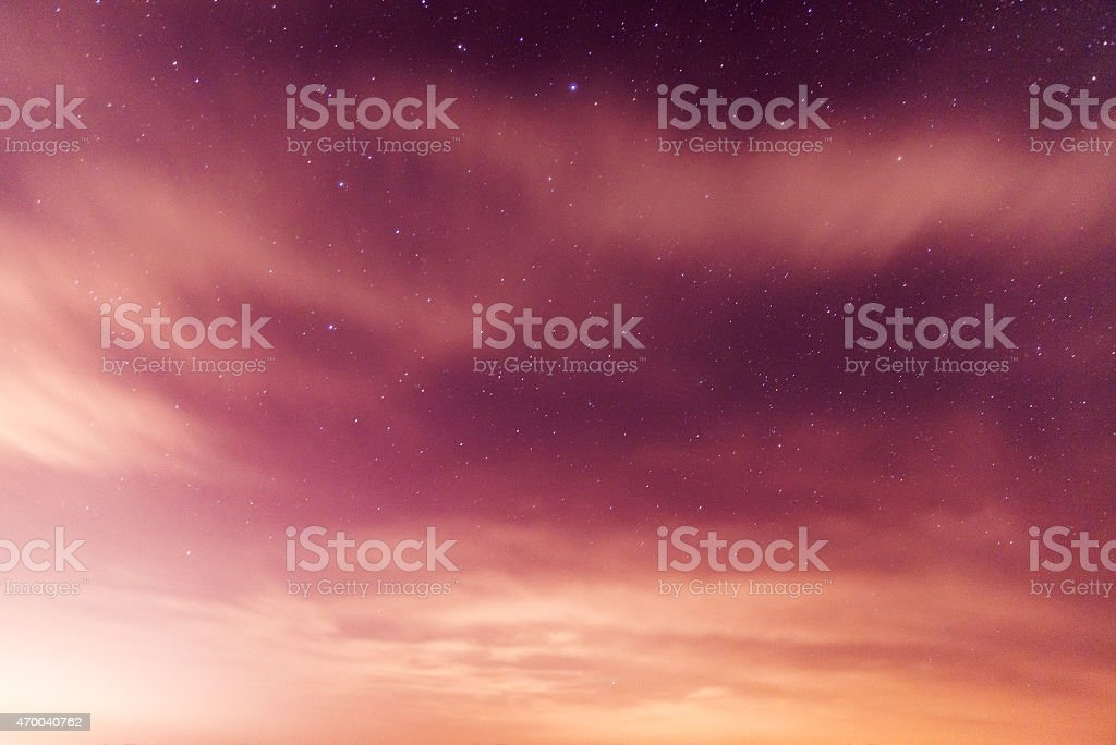 Galaxy Star stock photo