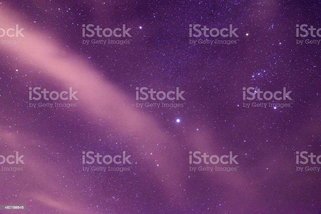 Galaxy Star stock photo