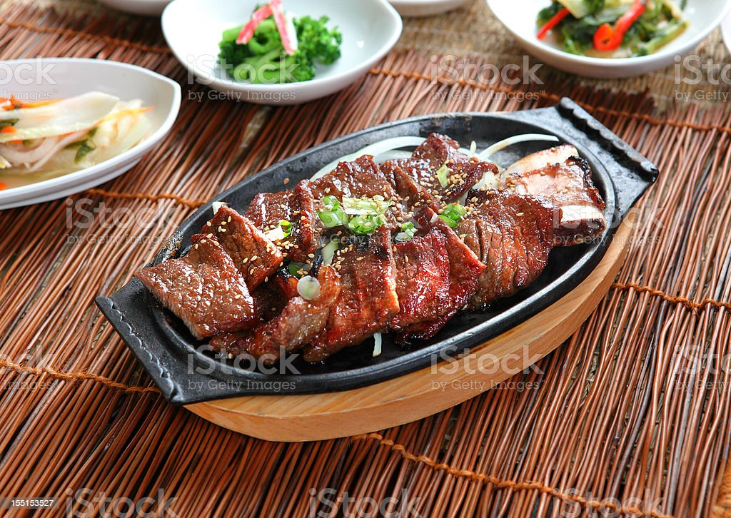Galbi stock photo