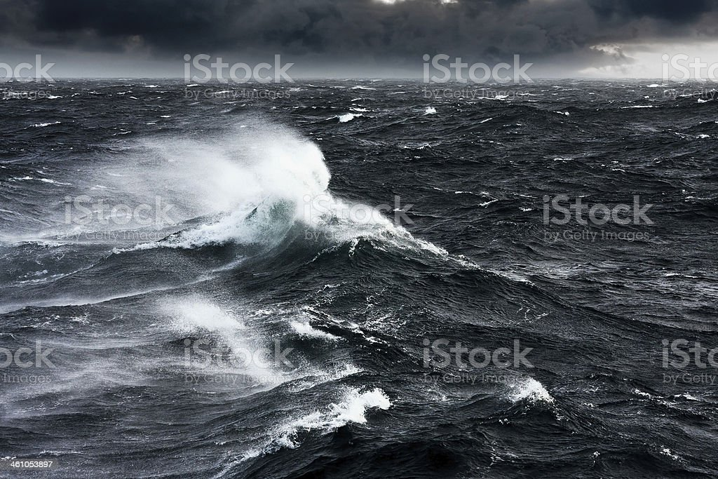 Gale stock photo