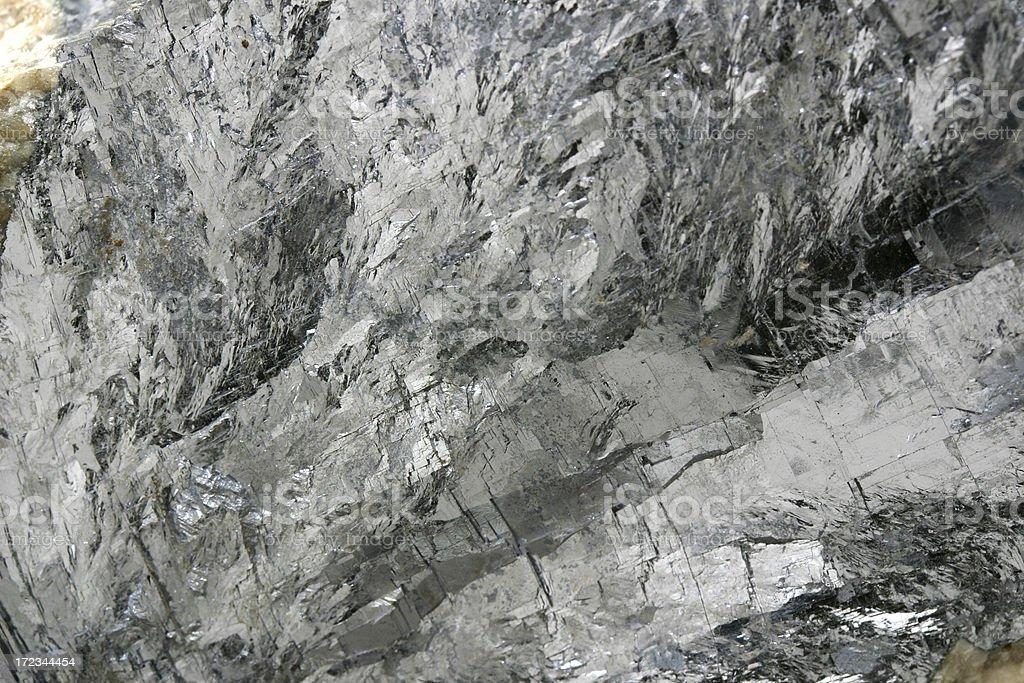 galena lead metal mineral ore macro royalty-free stock photo