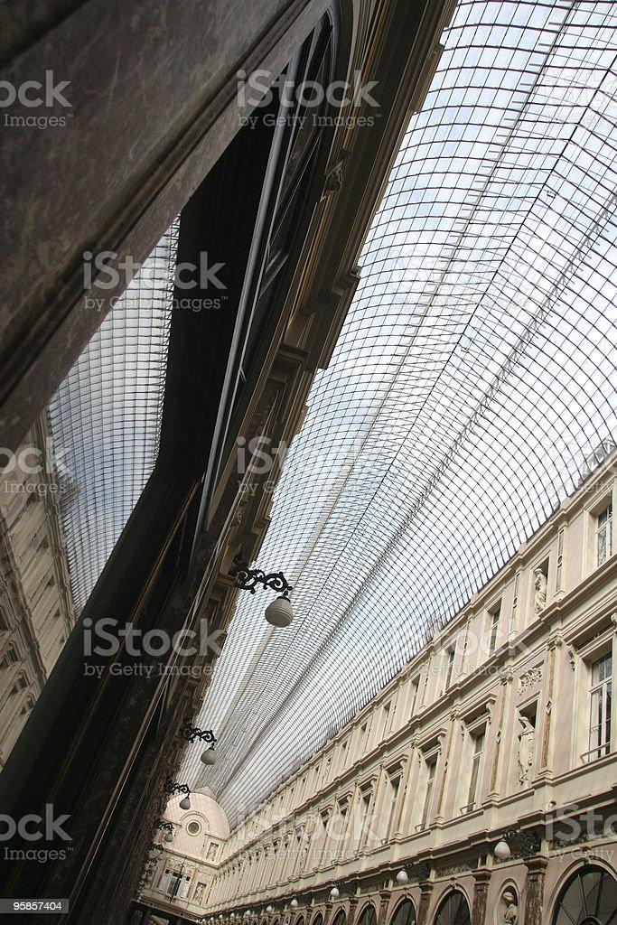 Galerie de la Reine royalty-free stock photo