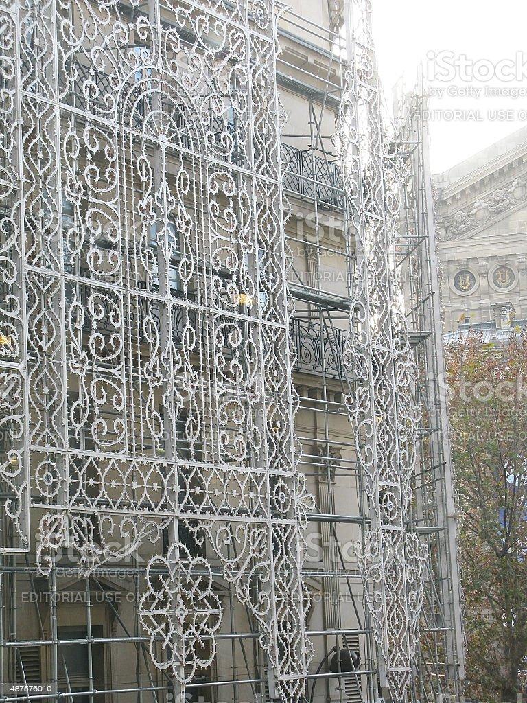 Galeries Lafayette exterior stock photo