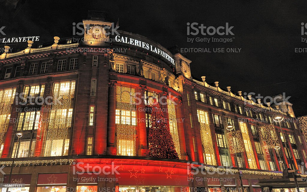 Galeries Lafayette Store, Strasbourg, France stock photo