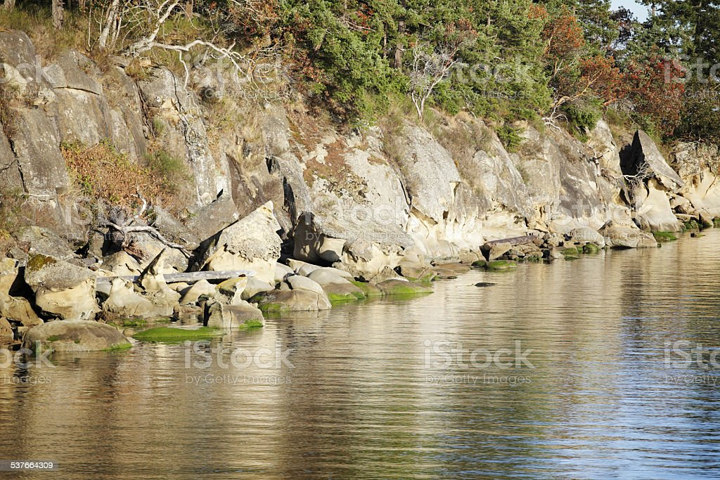 Galiano Island stock photo