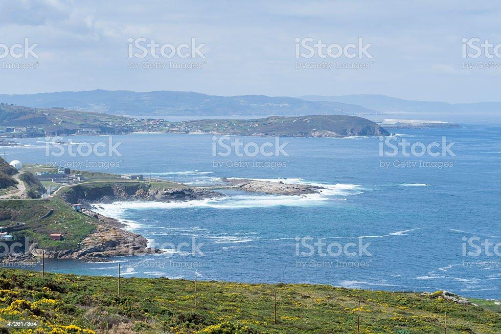 Galician Coast. stock photo