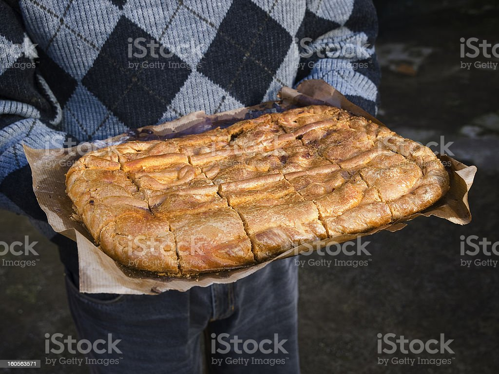 Empanada Gallega royalty-free stock photo