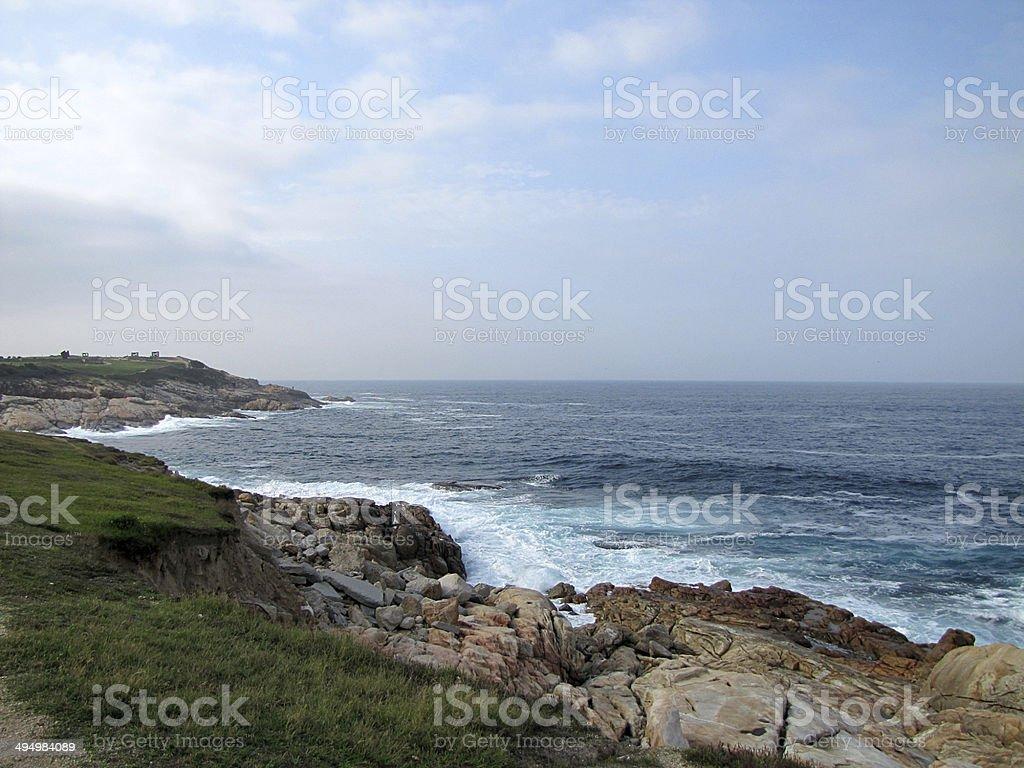 Galician seascape stock photo