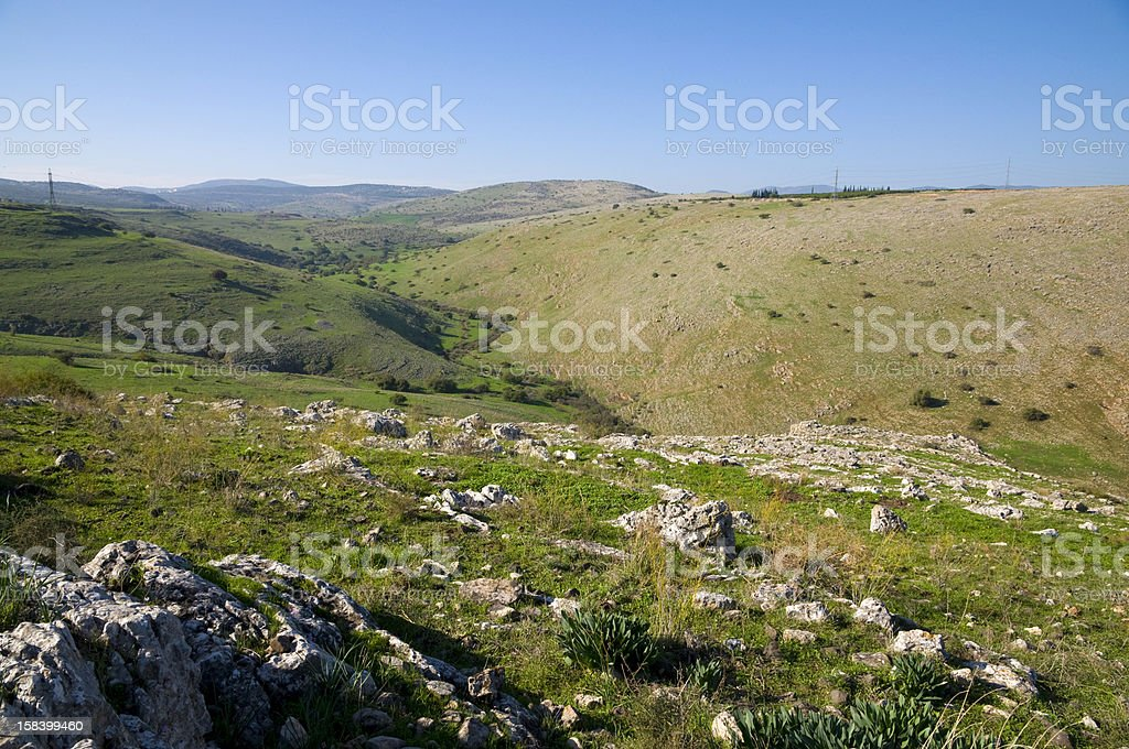 Galilee royalty-free stock photo