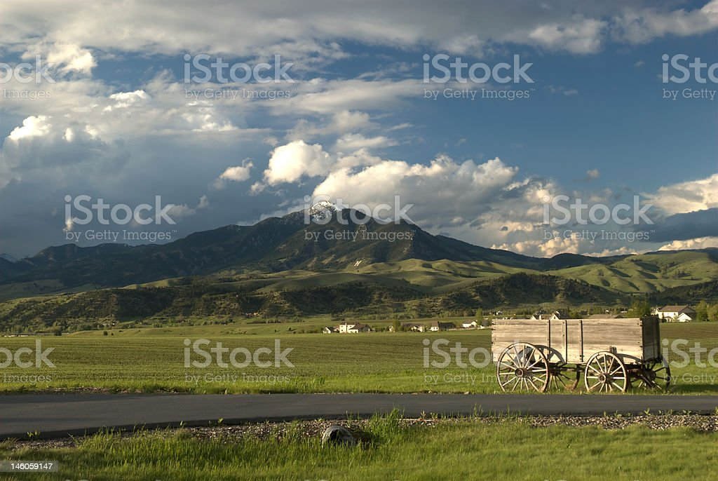 Gallatin Meadows stock photo