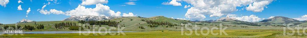 Gallatin Range stock photo