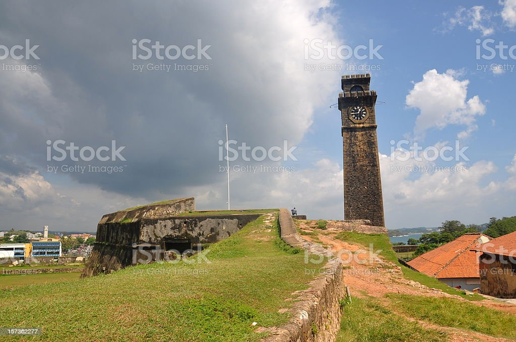 Galle fort stock photo