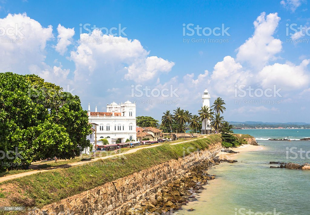 Galle fort, Sri Lanka stock photo