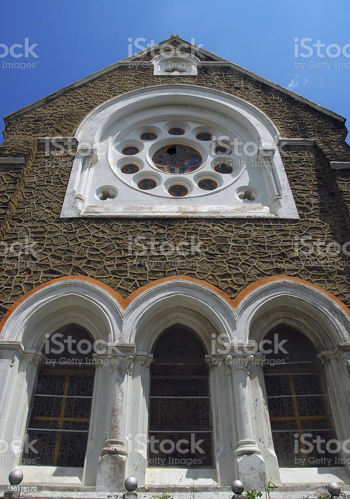 Galle, Sri Lanka: All Saints Anglican Church royalty-free stock photo