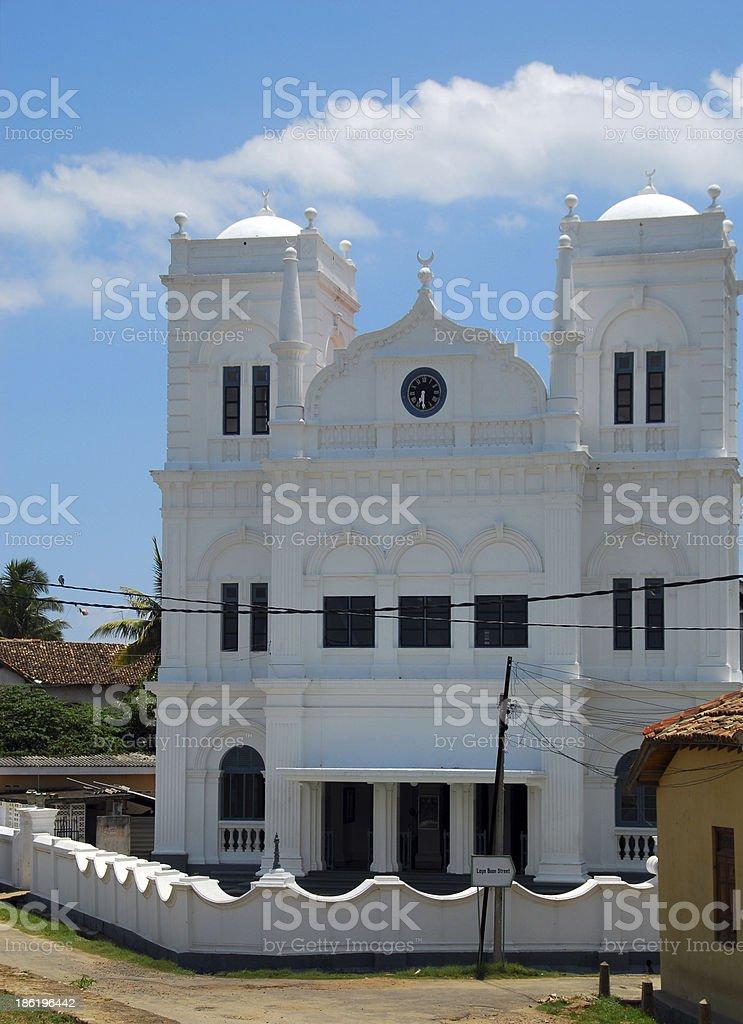Galle, Sri Lanka: Friday mosque stock photo