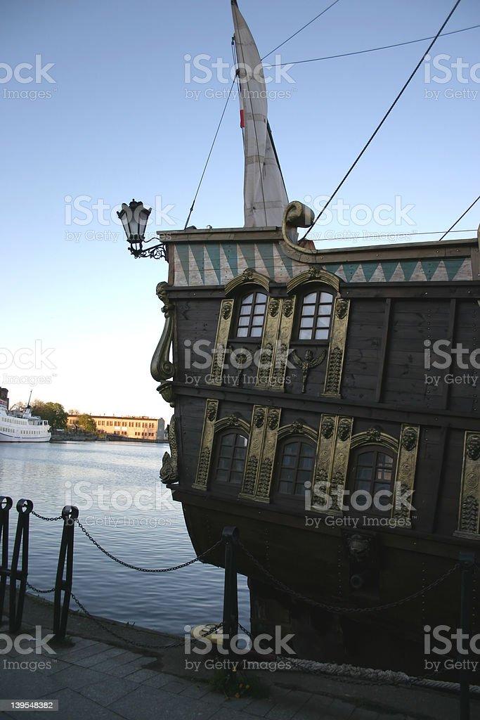 galleon royalty-free stock photo
