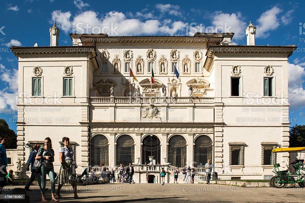 Galleria Borghese in Rome, Italy stock photo