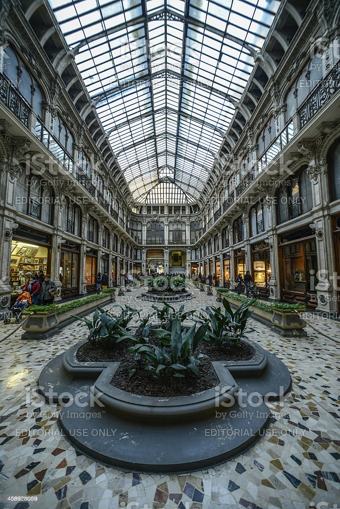 Galleria Subalpina in Turin royalty-free stock photo