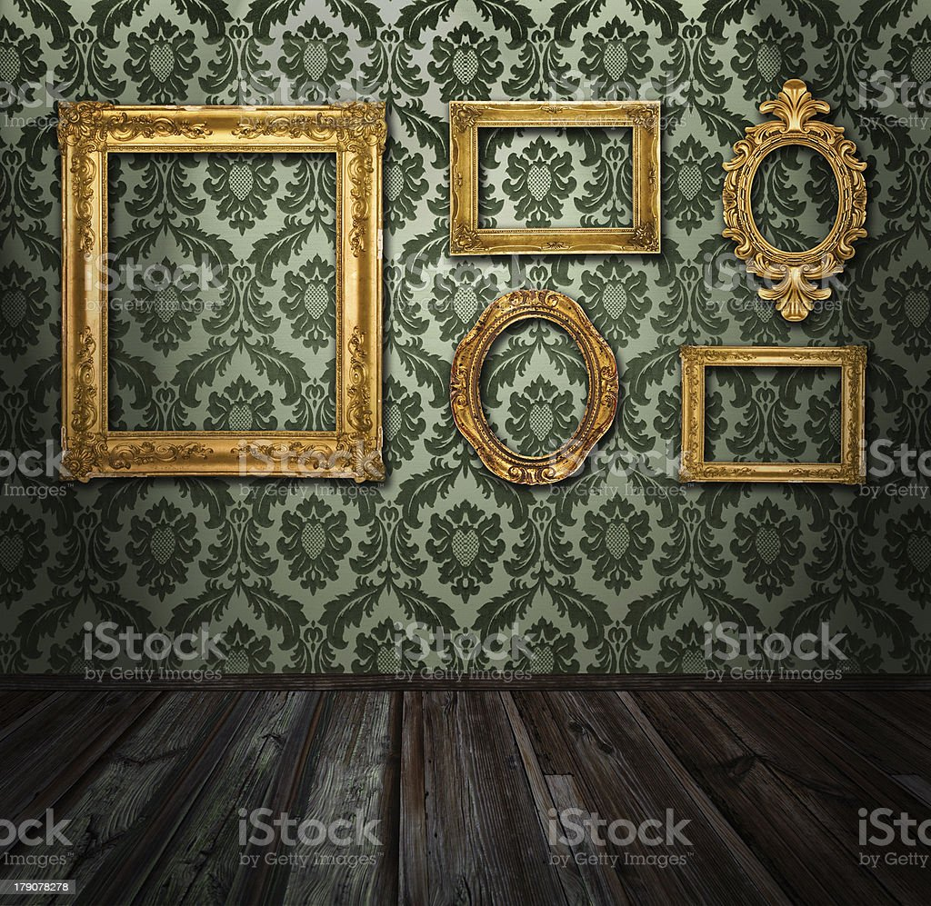Gallery display royalty-free stock photo