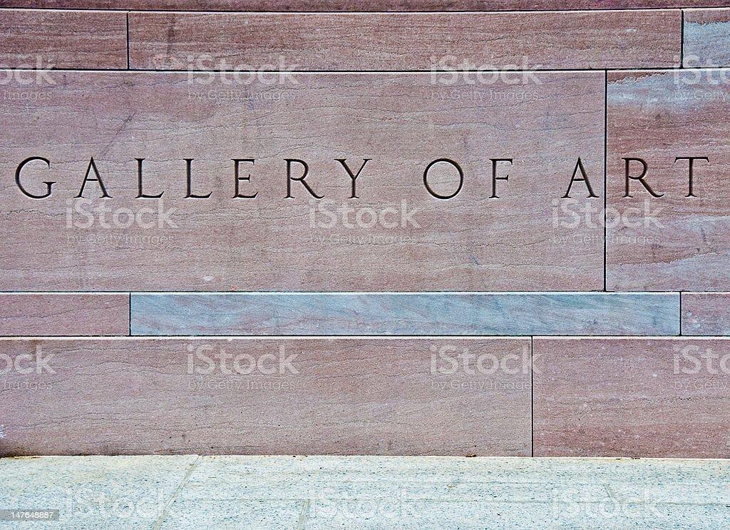 Gallery of Art stock photo