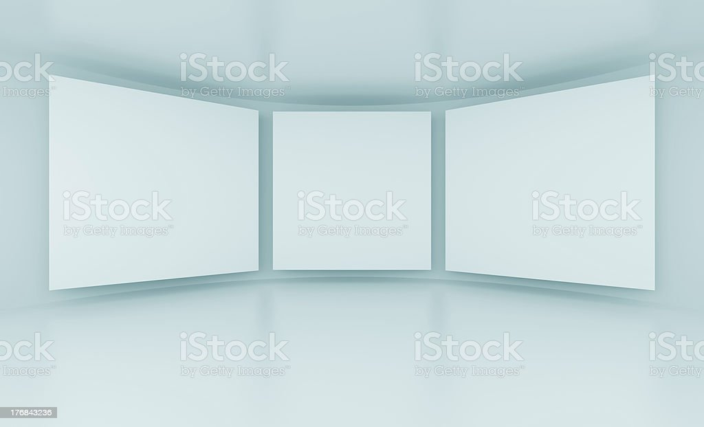 Gallery royalty-free stock photo