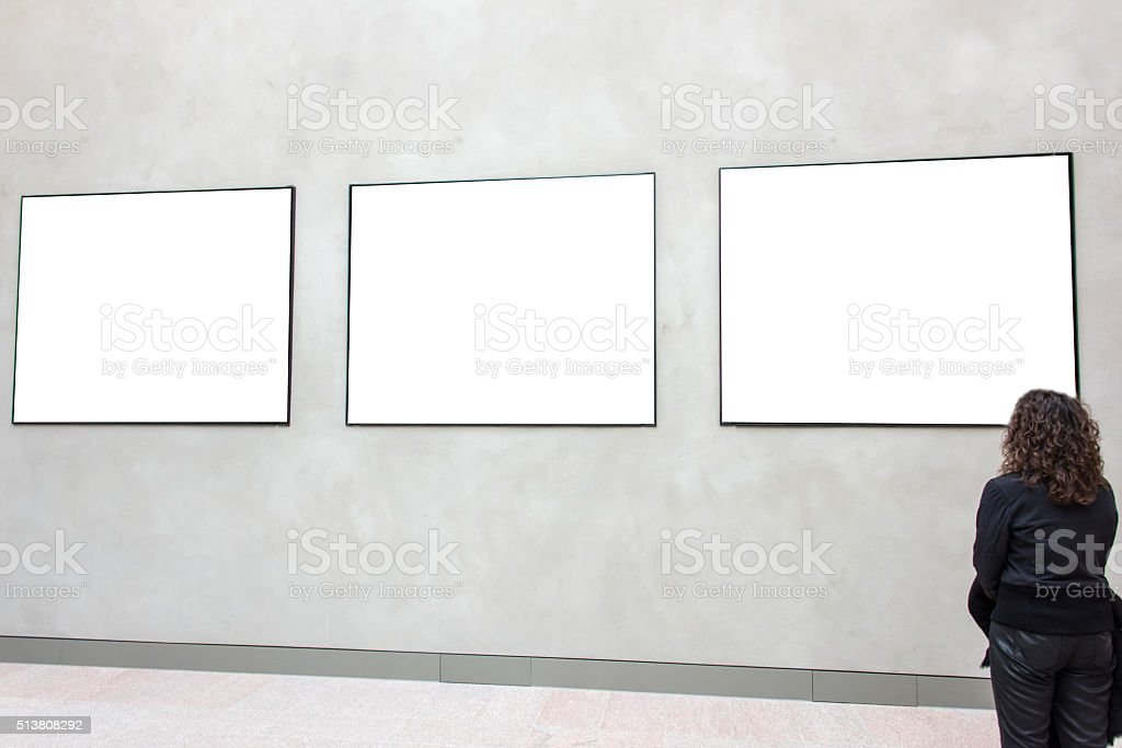 Gallery stock photo