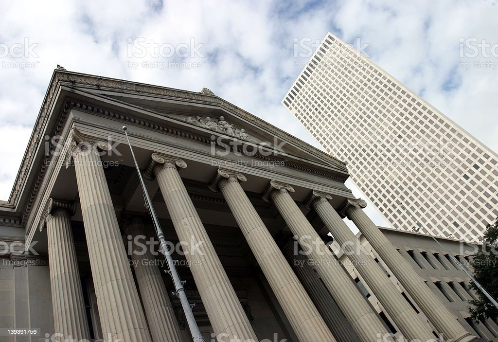 Gallier Hall stock photo