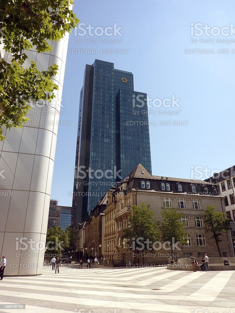 Gallileo tower, Frankfurt Germany royalty-free stock photo