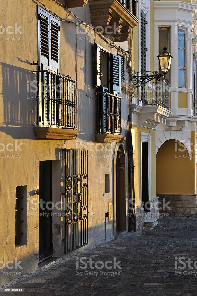 Gallipoli street royalty-free stock photo