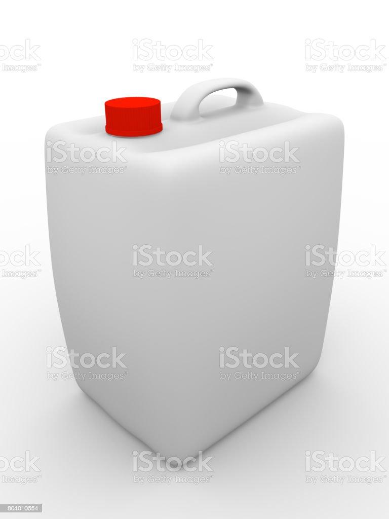 Gallon closed stock photo