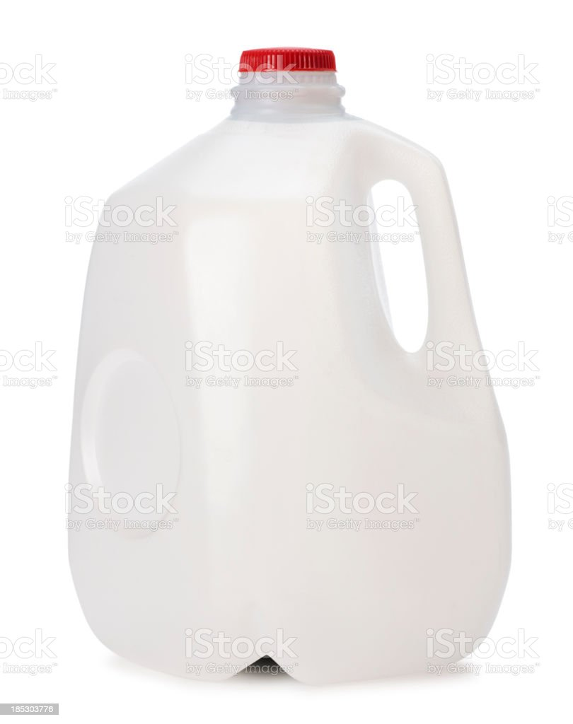 Gallon of Milk stock photo