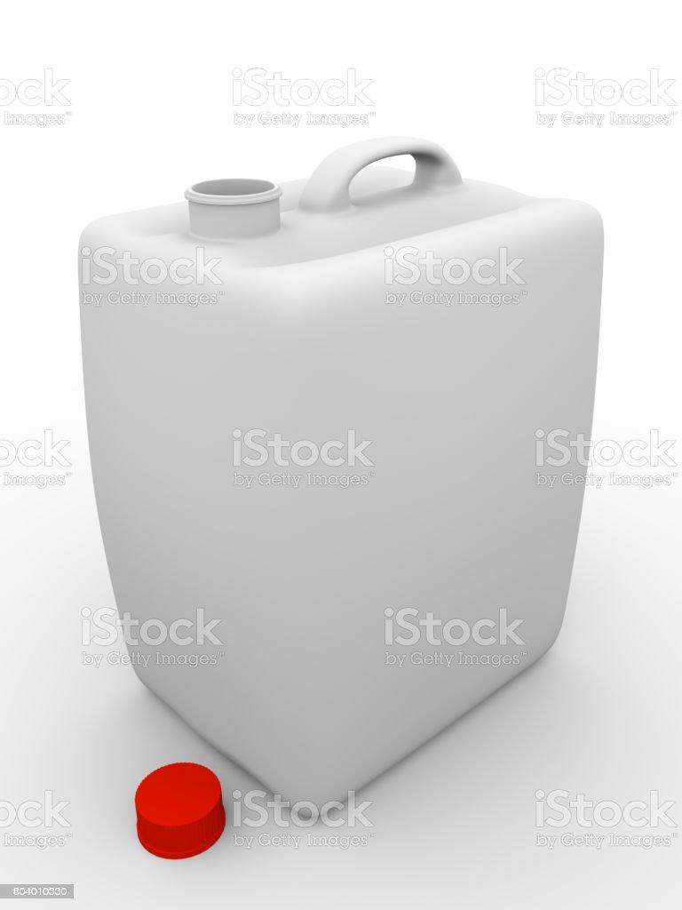 Gallon open stock photo