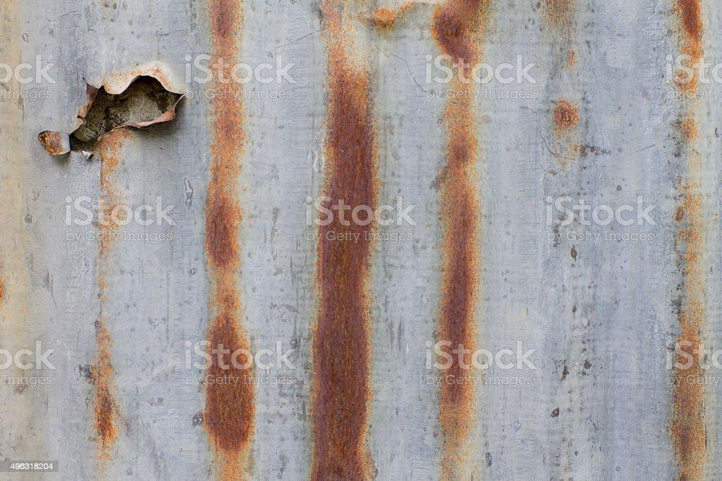 galvanized iron stock photo