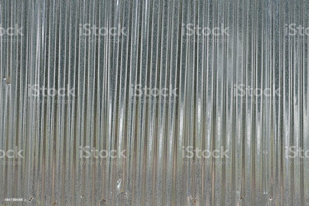 Galvanized Iron Roof Background stock photo