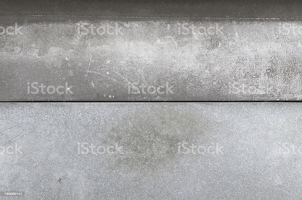 galvanized iron04 royalty-free stock photo